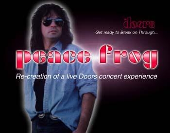 Peace Frog - Tribute to The Doors & HeartBreaker A Tribute to Pat Benatar