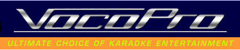 VocoPro Home Karaoke Equipment - VocoPro Website
